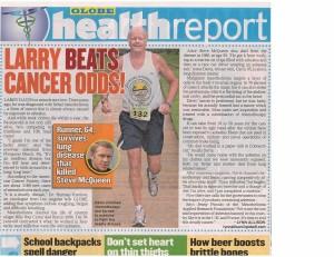 LARRY BEATS CANCER ODDS