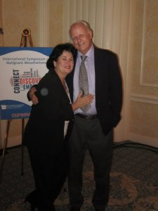 Linda Reinstein ADAO & Larry Davis